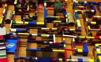 Lego Maze Guinea Pig Toy