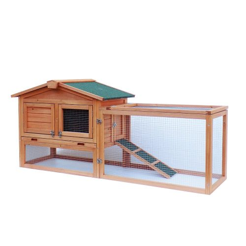 Outdoor Wooden Guinea Pig Cage For Two