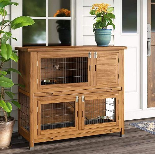 Wooden Guinea Pig Cage For Two