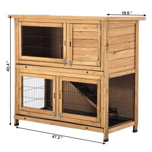 Lovupet's extra large guinea pig cage