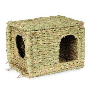Grass Guinea Pig Hidey House