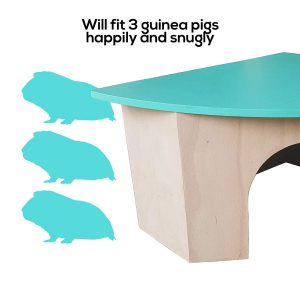 Wooden Guinea pig hidey house